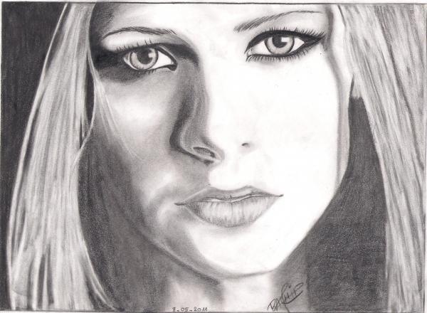 Avril Lavigne por Pink-pinther